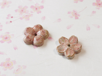 梅と桜の香立